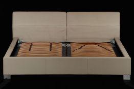 Design Doppelbett, 'Rolf Benz', made in Germany,