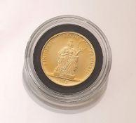 Goldmünze, ECU Europa, Deutschland, 1995, Einigkeit,