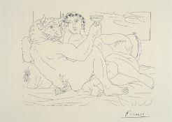 Pablo Picasso, 1881-1973, Titel: Minotaurus mit....,