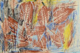 Otto Ditscher 1904 Neuhofen - 1987, Buntstift/Papier,