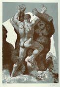 Willi Sitte, 1921 - 2013, Lithografie auf Bütten, num.
