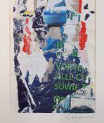 Elisabeth Reichert, 1940-2012, Konvolut aus 4 Collagen,