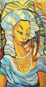 Mambengi Tondo, zeitgenössischer Künstler und Keramiker