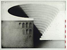 Friedrich Meckseper, geb. 1936, Radierung, signiert und