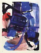 Jean Miotte, 1926-2016, Ohne Titel, Farblithographie,