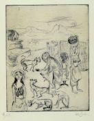 Bele Bachem, 1916-2005, Radierung, handsigniert, num.
