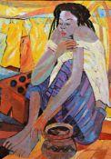 Mambengi Tondo, zeitgenössischer Künstler aus der