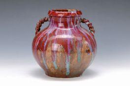 Bauchige Vase, Fachschule Hoehr, Hessen- Nassau, um
