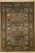 Ghom Kork, Persien, ca. 50 Jahre, Korkwolle, ca. 200 x