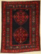 Schirwan alt, Kaukasus,datiert 1333(um 1912) Wolle auf