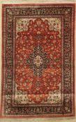 Ghom Seide, Persien, ca. 50 Jahre, reine Naturseide, ca.