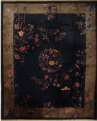 Peking Antik fein, China, um 1910, Korkwolle, ca. 434 x