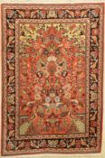 Ghom Kork, Persien, ca. 40 Jahre, Korkwolle, ca. 168 x