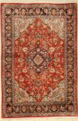 Ghom Seide, Persien, ca. 40 Jahre, reine Naturseide, ca.