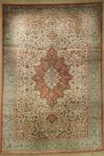Ghom Seide fein, Persien, ca. 50 Jahre, reine