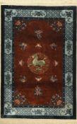 China Seide, ca. 40 Jahre, reine Naturseide, ca. 185 x