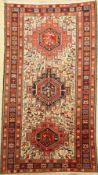 Seiden Sumakh, Persien, ca. 40 Jahre, Seidemit