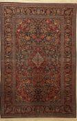 Keschan fein, Persien, um 1930, Korkwolle auf Baumwolle,