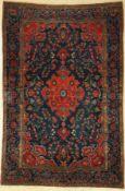 Us Re-Import Keschan antik, Persien, um 1900, Korkwolle,