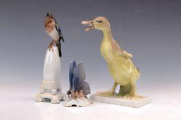 Drei Rosenthal-Tierskulpturen, Entwürfe Himmelstoss: 1.