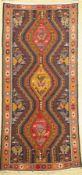 Sumagh, Persien, ca. 50 Jahre, Baumwolle, ca. 206 x 99