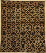 Turkestan alt, ca. 50 Jahre, Wolle auf Baumwolle, ca.