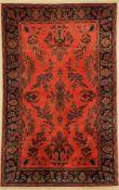 Manchester Keschan antik, Persien, um 1900,Korkwolle,