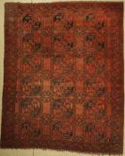 Ersari antik, Afghanistan, um 1920, Wolle auf Wolle, ca.