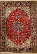 Esfahan fein alt Persien, Signiert(Saraf Mamuri), um