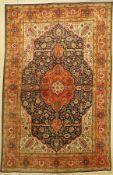 Täbriz fein alt, Persien, um 1960, Korkwolle, ca. 306 x