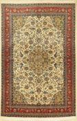 Sarogh Sherkat fein, Persien, ca. 40 Jahre,Korkwolle,