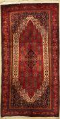 Senneh alt, Persien, ca. 60 Jahre, Wolle auf Baumwolle,