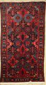 Bachtiar alt, Persien, um 1950, Wolle auf Baumwolle, ca.