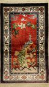 China Seide alt, ca. 60 Jahre, reine Naturseide, ca. 158