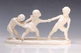 Figurengruppe, Max Roesler Rodach, 1920er Jahre,