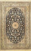 Nain fein (6 La), Persien, ca. 60 Jahre, Korkwolle mit
