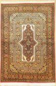 Ghom Kork (Seidengrund), Persien, ca. 50 Jahre,