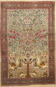 Teheran antik, Persien, um 1900, Wolle auf Baumwolle,