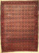 Bidjar Kork alt, Persien, um 1960, Korkwolle, ca. 363 x