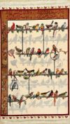 Täbriz fein (Seidengrund), Persien, ca. 40 Jahre,