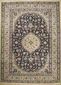 Nain, Persien, ca. 50 Jahre, Wolle auf Baumwolle, ca.