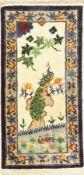 China Seide,   ca. 40 Jahre, reine Naturseide, ca. 125 x