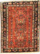 Sarogh Mohajeran antik,   Persien, um 1900, Korkwolle, ca.