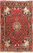 Bidjar alt,   Persien, ca. 60 Jahre, Wolle auf Baumwolle,