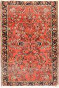 Us Re-Import Sarogh antik,   Persien, um 1910, Wolle auf
