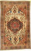 Farahan fein antik,   Persien, um 1900, Korkwolle, ca. 200