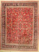 Sarogh alt,   Persien, ca. 60 Jahre, Wolle auf Baumwolle,