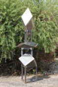 Skulptur, Andreas Helmling,  Eisen/Metall, 5-teilig
