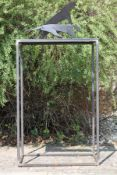 Skulptur, Andreas Helmling,  Eisen/Metall, im Moment des
