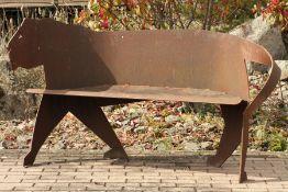 Skulptur, Andreas Helmling,  Eisen/Metall, monumental,